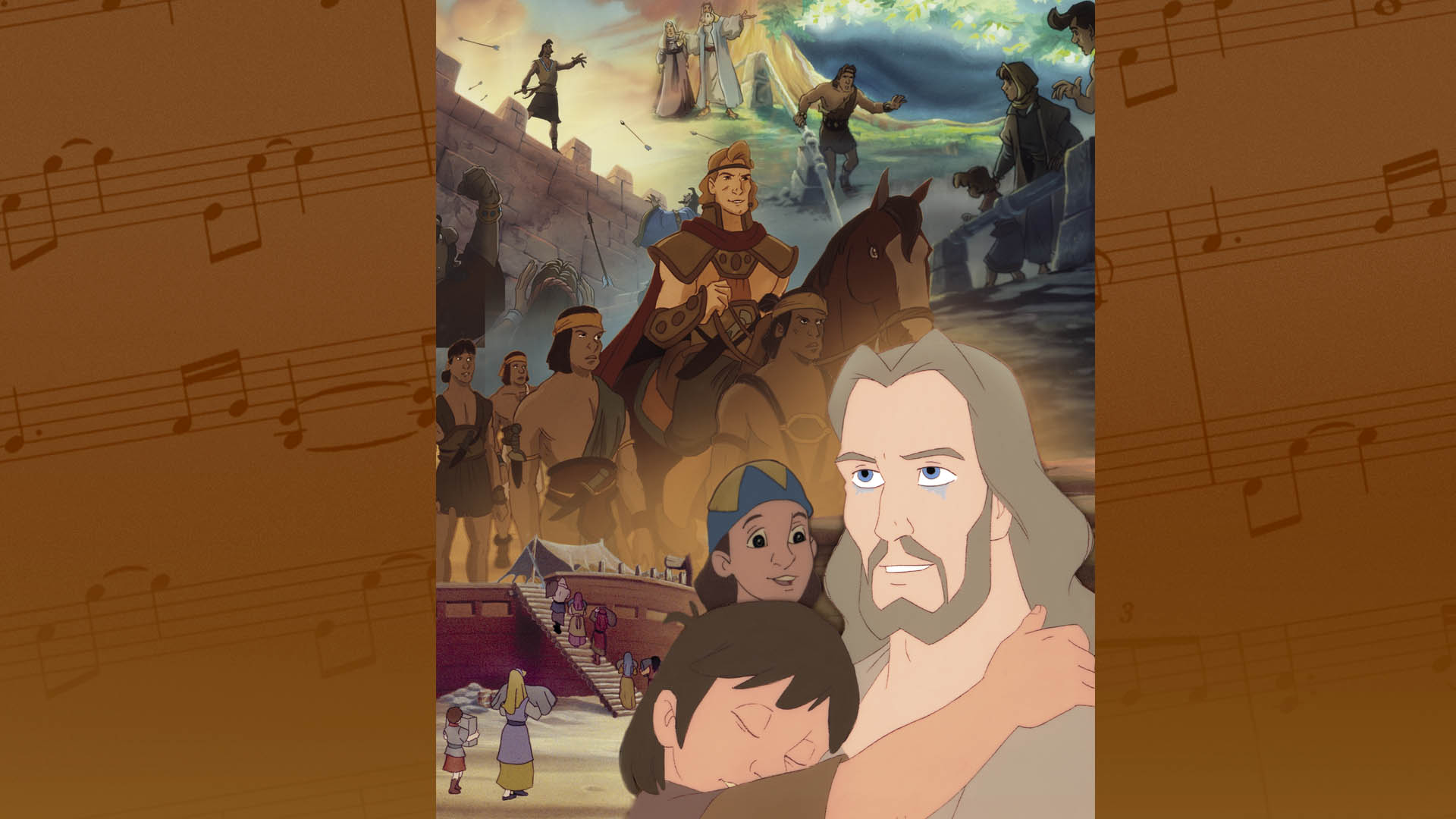 Songs from The Animated Book of Mormon